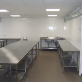 Newham College – Kitchen Training Rooms